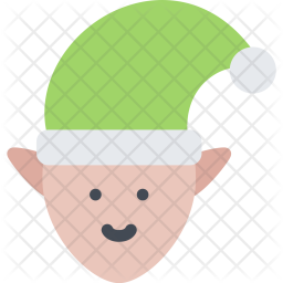 Elf, New, Year, Christmas, Winter, Holidays Icon
