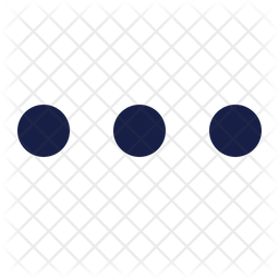 Ellipsis Horizontal Icon