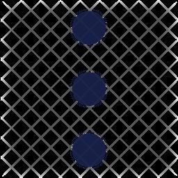 Ellipsis Vertical Icon