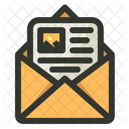 Email Colored Outline Icon