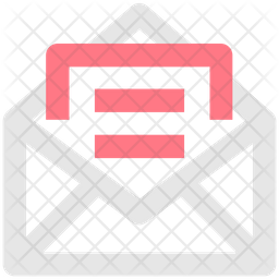 Email Document Line Icon