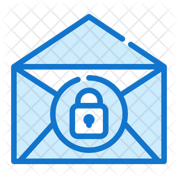 Email Lock Icon