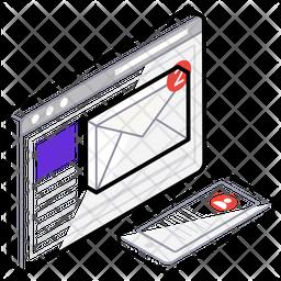 Email Marketing Logo Icon