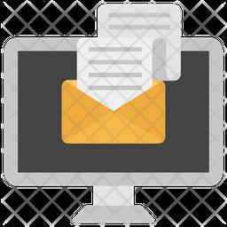 Email Marketing Flat Icon