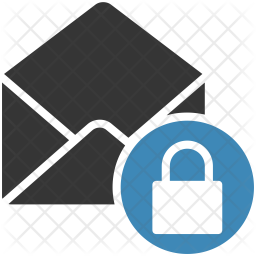 Email Security Flat Icon