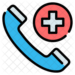 Emergency Call Icon Of Colored Outline Style Available In Svg Png Eps Ai Icon Fonts