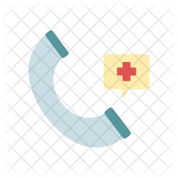 Emergency Call Icon Of Flat Style Available In Svg Png Eps Ai Icon Fonts