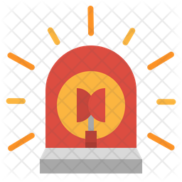Emergency Siren Icon