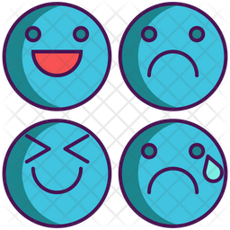 emotion icon of colored outline style available in svg png eps ai icon fonts emotion icon