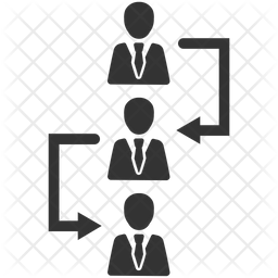 Employee chain Icon