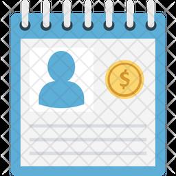 Employee details Icon