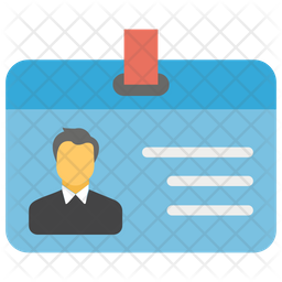 Employee Id Icon Of Flat Style Available In Svg Png Eps Ai Icon Fonts