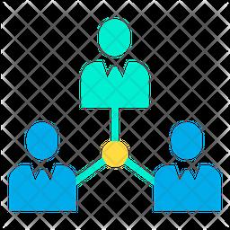 Employee Network Icon