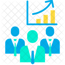 Employee Performance Chart Icon