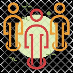 Employee  position Icon