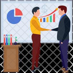 Employee Presentation Icon