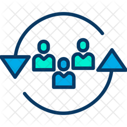 Employee Relocation Icon