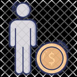 Employee Salary Icon