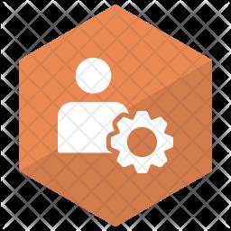 Employee setting Icon