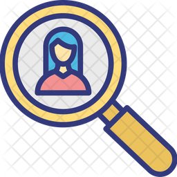 Employment Colored Outline Icon