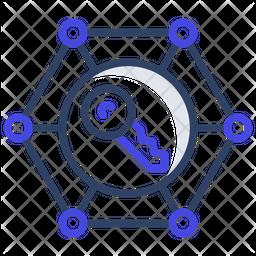 Encrypted Key Icon
