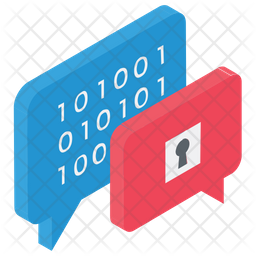 Encrypted Messaging Icon