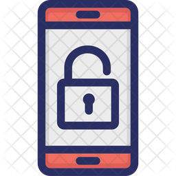 Encryption Colored Outline Icon