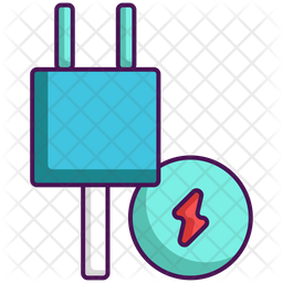 Energy Consumption Colored Outline Icon