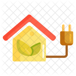 Energy Efficiency Colored Outline Icon