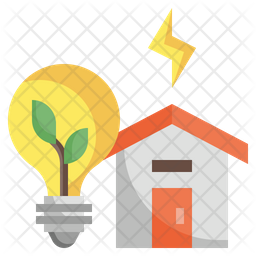 Energy Efficient Flat Icon