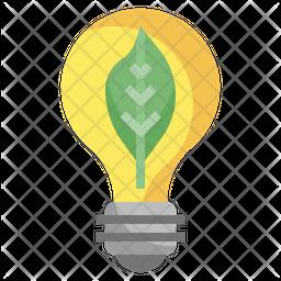 Energy Efficient Light Flat Icon