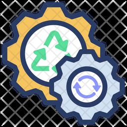 Energy process Icon