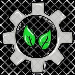 Energy Process Doodle Icon