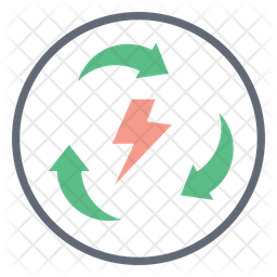 Energy Renewable Icon