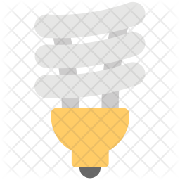Energy Saver bulb Flat Icon
