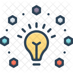 Energy Saving Colored Outline Icon