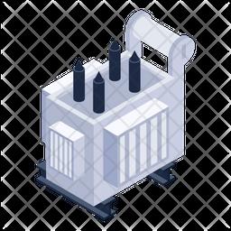 Energy Transformer Icon