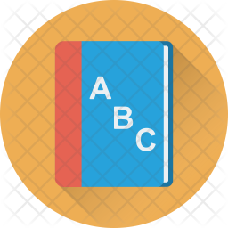 English Book Icon Of Flat Style Available In Svg Png Eps Ai Icon Fonts