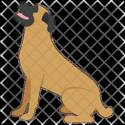 English Mastiff Icon