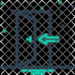 Enter Line Icon