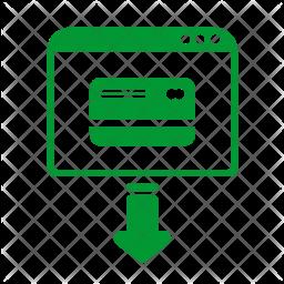 Enter card Icon