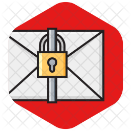 Envelope Colored Outline Icon