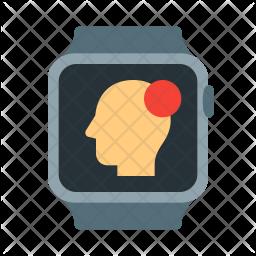 Epilepsy smartwatch Icon