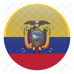 Equator Flag Icon