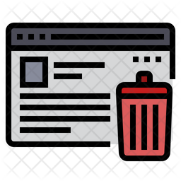 Erase Data Icon