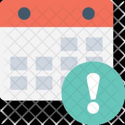Error in Calendar Icon