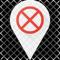 Error in location Icon