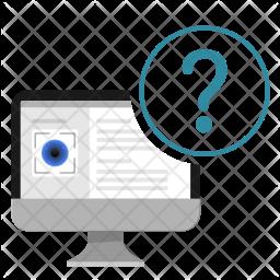Error in scanning Icon