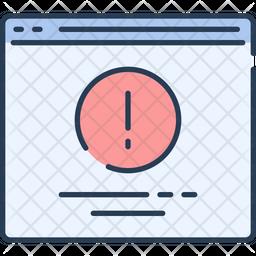 Error Website Icon