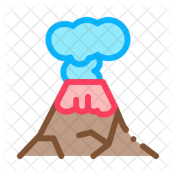 Eruption Climate Change Icon
